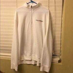 Ralph Lauren Half zip turtle neck sweater